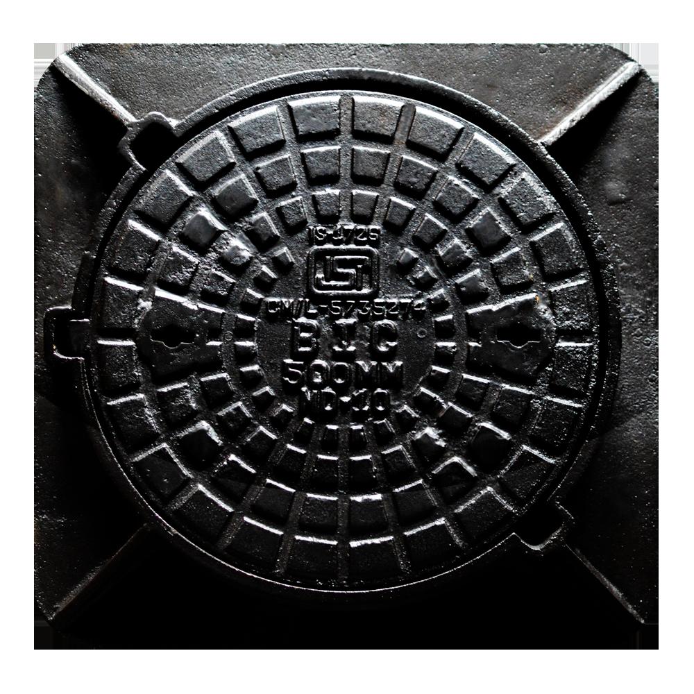 Manhole Cover_Square Frame